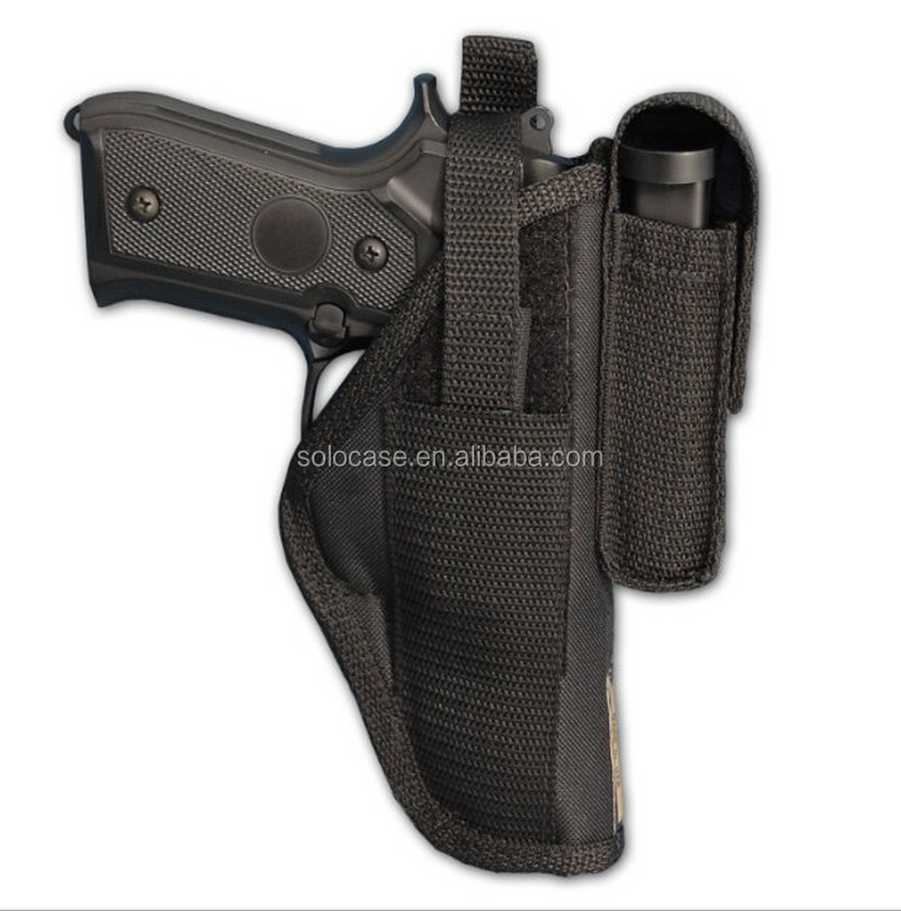 Gun OWB Belt Holster with Magazine Pouch for Full Size 9m 40 45