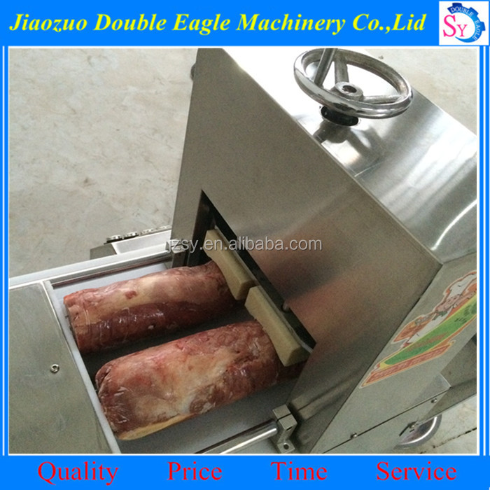 Best quality Industrial Full Automatic Frozen Beef Mutton Pork Meat Cutting Slicing machine manufacturers price