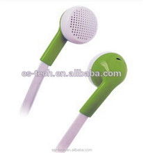 Portable media player used 3.5mm jack earphone with flat cable
