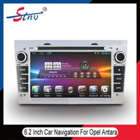 6.2 inch android quad-core gps navigation for Opel Antara with RDS/OBD