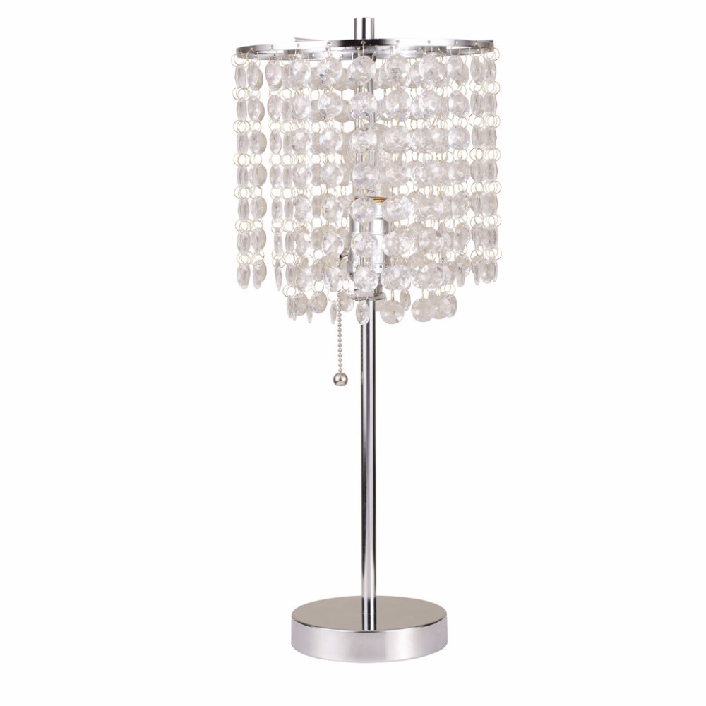 US Home 2101-T classic decorative crystal lighting modern crystal table lamp