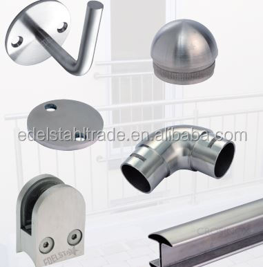 High quality 304/316 stainless steel decorative fitting/stainless steel pipe fitting