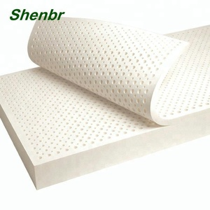 25cm Thickness Cheap Vacuum Pack Orthopedic Natural Latex Mattress