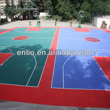 interlocking outdoor basketball flooring