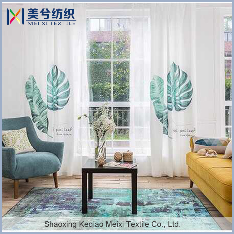 TOP 10 sales products 3d colorful kitchen curtains