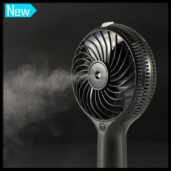 Newest Hand-Driven Cold Water Mist Spray Fan