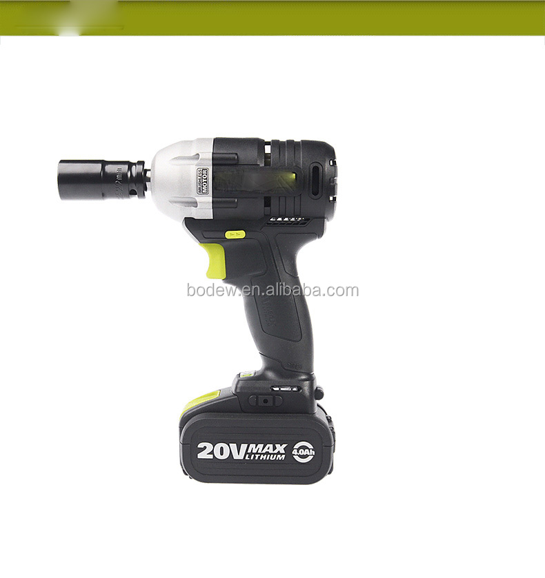 20V Max Lithium-Ion 1/4 inch 1/2 Inch Drive Cordless Impact Wrench