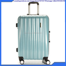 "Factory Sale High Quality Cute Candy Colors 20"" ABS PC strong travel trolley luggage bag for girls boys school hiking"