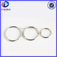 Key Holder Metal Keyring Fit Keychain Circle Ring Jewelry Fitting