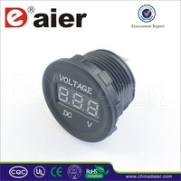 Car Cigarette Lighter Socket Adapter Voltmeter Wtih Standard Nut