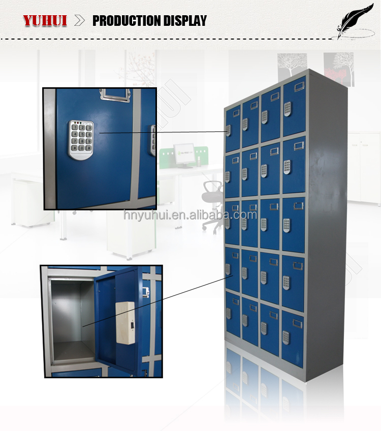high quality electronic safe locker for plubic places
