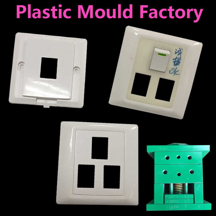 Switch Panel ABS Injection Molded Plastic Parts, ABS Mold