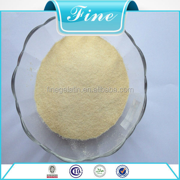 Edible Gelatin Bovine Food Gelatin Animal
