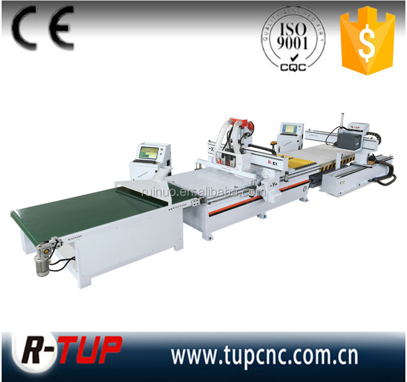 R-K1 Wood Cabinet Carving/Cutting/Engraving/Milling CNC Router Machine for customized furniture