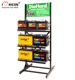 Personalized 3-Layer Metal Floor Commercial Batteries Display Automotive Car Battery Storage Rack
