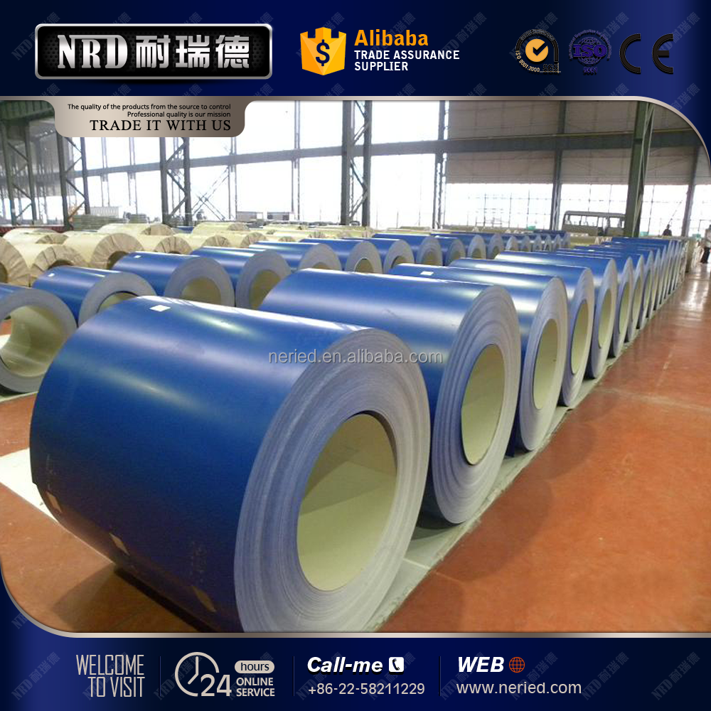 0.45mm ppgi coil color coated steel coil manufacturer price from China Tianjin