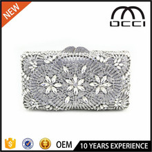 hot designer crystal evening clutch purse women lastest model purses SC2238