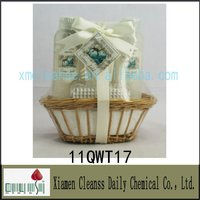 Promotional Willow Basket Bath Gift Sets