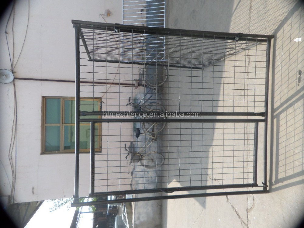 dog cages/welded wire dog kennel and runs/metal large dog kennels ANTI-CLIMB BAR SYSTEM DOG RUN PEN CAGE