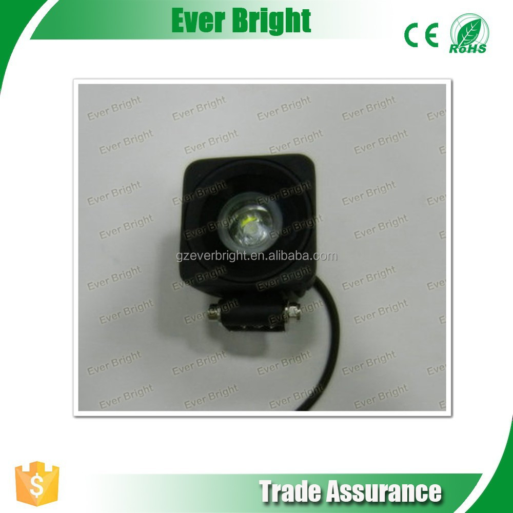 10w auto led light clearance sale , 10w car working light direct-sale at cheap price