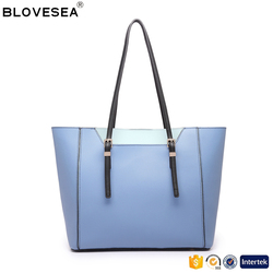 Korean style sweet lady shoulder bag with low price pu leather China handbag wholesale