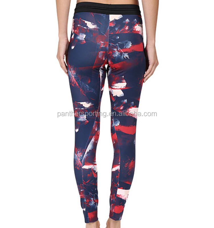 OEM Activewear Sublimation Ladies Gym Tights Custom Women Workout Leggings