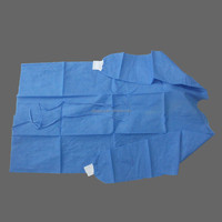 Disposable surgical gown,SMS sterile surgical gown