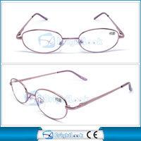 Newest designer nice quality copper frame arms reading glasses for women fit CE/FDA ZT006