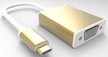 High Speed USB 3.1 Type-C to HDMI,VGA,Displayport cable Adapter