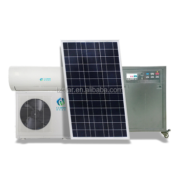 DC inverter off grid air conditioner/24000BTU  48v solar powered  air conditioner  with working 8-24hours