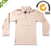 best sell army camouflage breathable khaki combat shirt