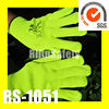 RILIN SAFETY traffic glove ,light-up gloves with EN388 EN 420 CE CERTIFICATE