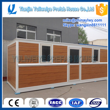 Wasy installation reuse container house for construction site office