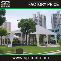 Large permanent outdoor moroccan wedding marquee tents