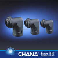 CE approval IP65 protection 3way T shaped gland for Flexible pipes