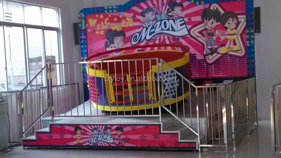 Amazing theme park ride Disco tagada for sale LT-4017A