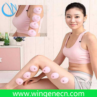 Natural Portatble Massager Products Silicone cupping