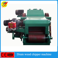 High output wood chips log making machine
