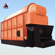 Coal fired steam boiler for cement plant