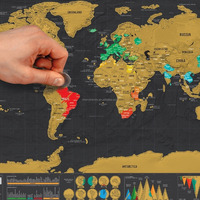 Perfect Scratch Map Making Your Own