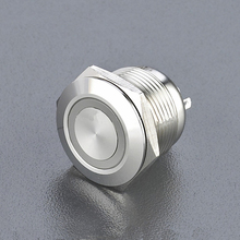 JS19F-10E large momentary on-off momentary push button switch/ led push button emergency