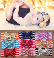 Fancy elastic strip headbands baby girl hair accessories wholesale China
