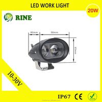 Factory Price Led Work Light 20w
