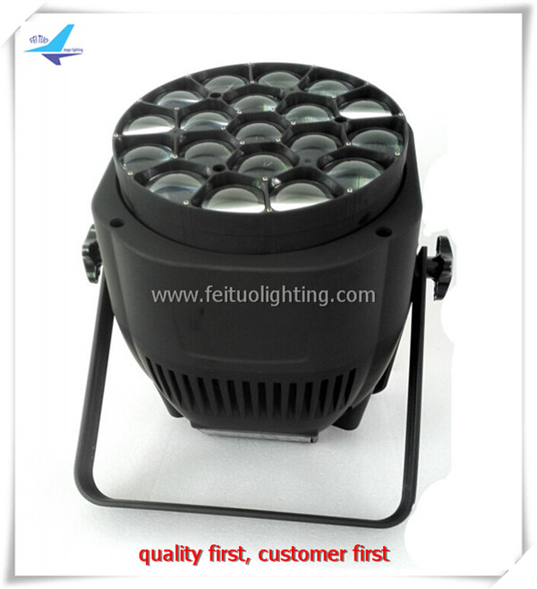 Individually Controlled Big Bee Eye 19x15W Led Beam Zoom Par Light