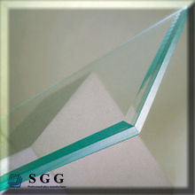 Excellent quality CE certificated 6mm tempered large glass panel price