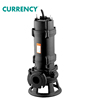 High Quality WQV Series Non-Clog Centrifugal Submersible Sewage Pump With Cutter