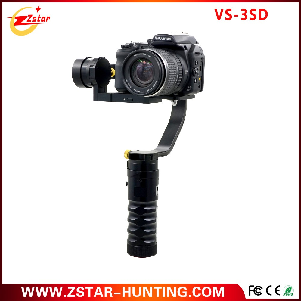2017 Newest released handheld gimbal camera 3 axis brushless handheld stabilizer gimbal for dslr camera