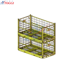 industrial stackable storage rack for storage