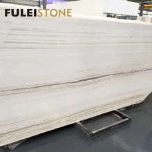 Good Building Material Polished Natural Golden White Onyx Marble Slabs