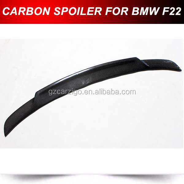 Carbon Fiber Spoiler Wing Lip for 2014+ BMW F22 220i 228i 235i M235i